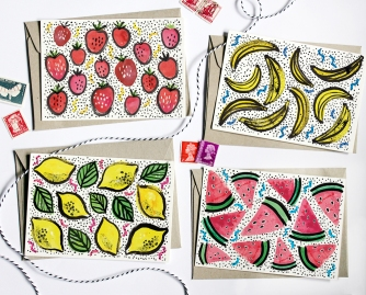 Fruity Cards