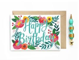 """Happy Birthday"" Card"