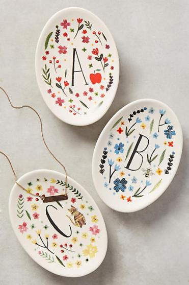 Anthropologie Trinket Dishes (photo courtesy Anthropologie)