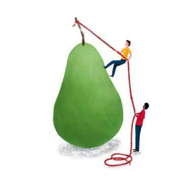 Pear Climbing